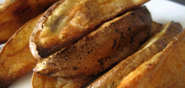 كيفية شوي البطاطس في الفرن