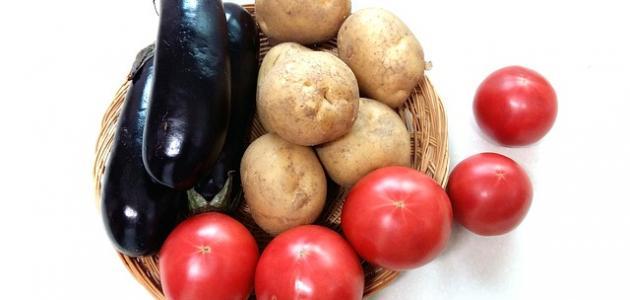 طريقة عمل المسقعة باللحمة المفرومة والبطاطس