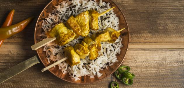 أكل هندي باللحم