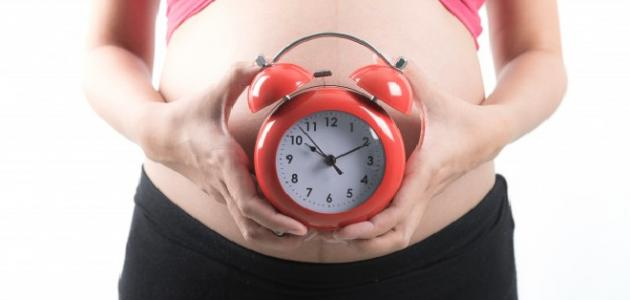 الشهر التاسع من الحمل