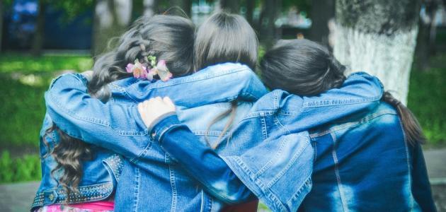 كلام عن حب الأصدقاء