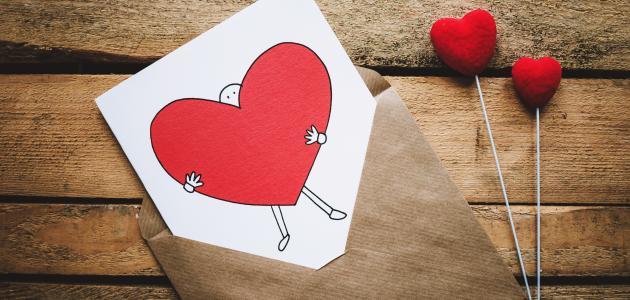 أجمل رسائل حب رومانسية موضوع