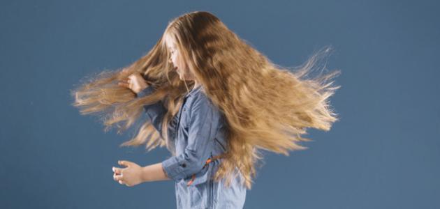كيفية المحافظة على شعر طفلتي