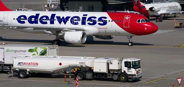 أنواع وقود الطائرات