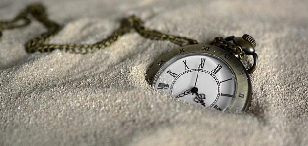 كلام عن الزمن