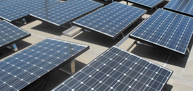 كيفية صنع ألواح الطاقة الشمسية