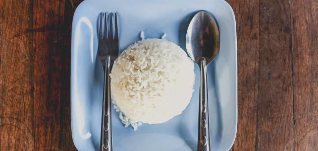 أفضل طريقة لعمل الأرز الابيض