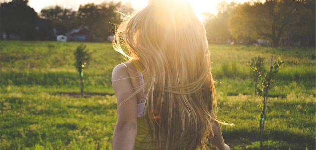حلمت أن شعري طويل