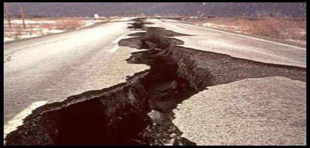كيف تحصل الزلازل
