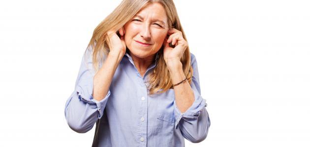 أعراض التهاب طبلة الأذن
