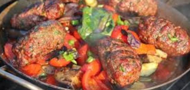 لحم بالفرن مع الخضار