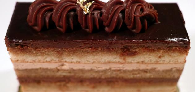 طريقة عمل كيكة موس الشوكولاته