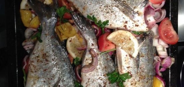 كيفية طهي السمك