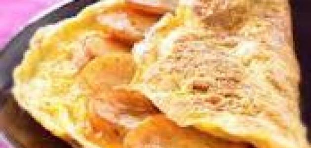كيفية طبخ العجة التونسية