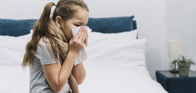أعراض التهاب الشعب الهوائية عند الأطفال