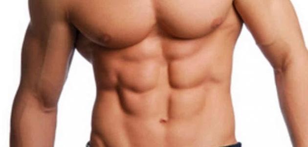كيفية شد عضلات البطن