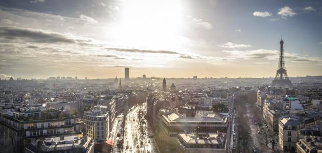 أسماء مدن في فرنسا