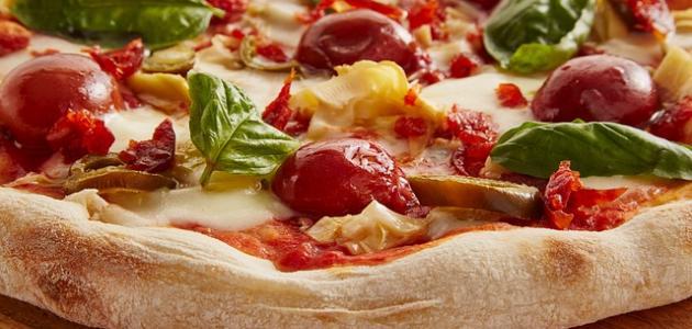 طريقة إعداد بيتزا