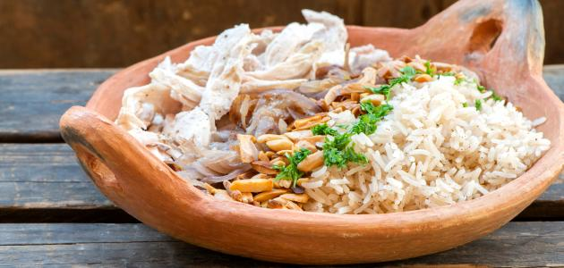 أكلات لبنانية بالدجاج