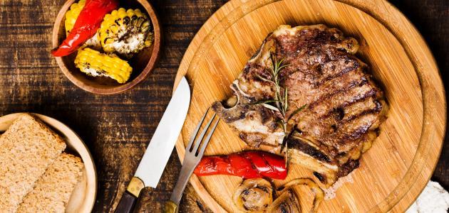 طريقة شوي لحم الخروف