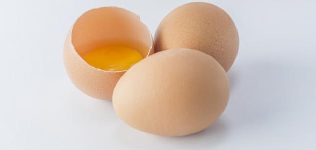 ماسك صفار البيض للبشرة الجافة
