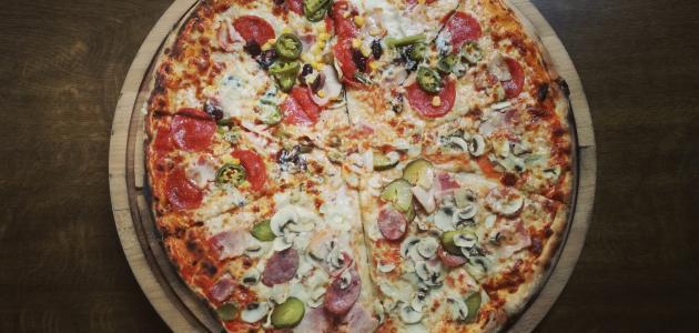 بيتزا مقلية