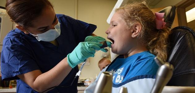 التهاب الغدد الليمفاوية عند الأطفال