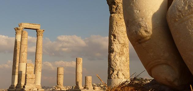 اسم العاصمة الاردنية قديماً
