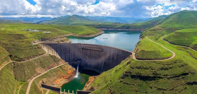 أكبر السدود في إفريقيا