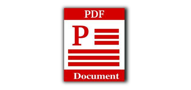 إضافة نص على ملف pdf
