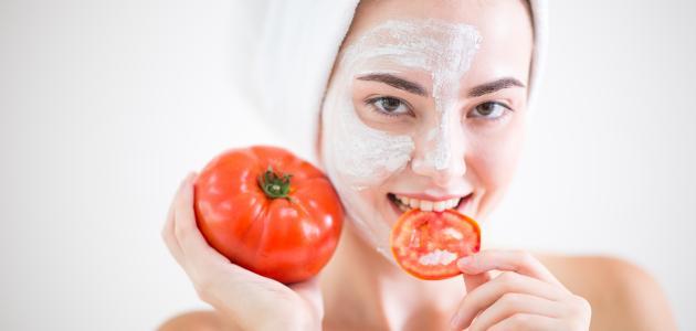 ماسك عصير الطماطم