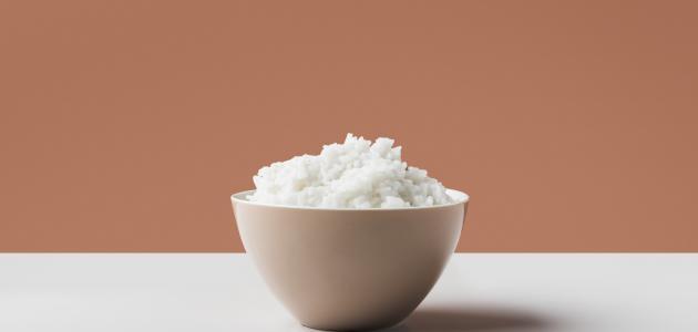 طريقة سلق الأرز البسمتى