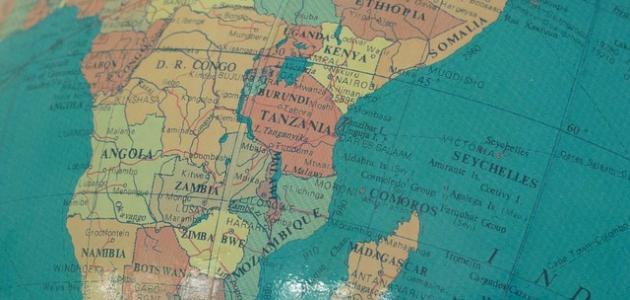 أكبر القارات
