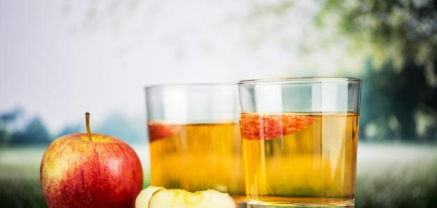 ماسك خل التفاح للبشرة الدهنية