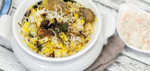 طريقة تحضير أرز على دجاج