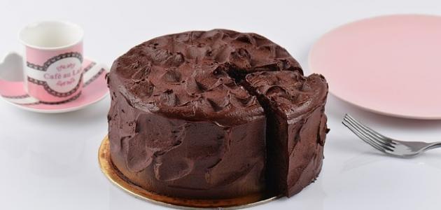 طريقة الكيكة الاسفنجية بالكاكاو