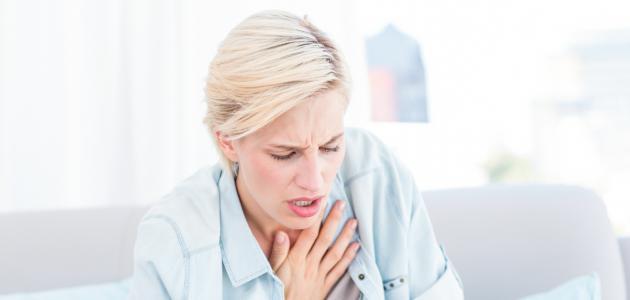 أعراض نقص التروية القلبية