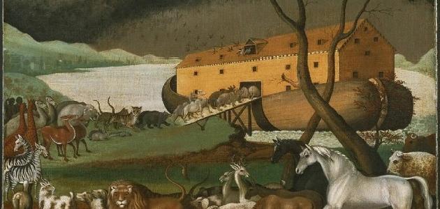 أين رست سفينة سيدنا نوح
