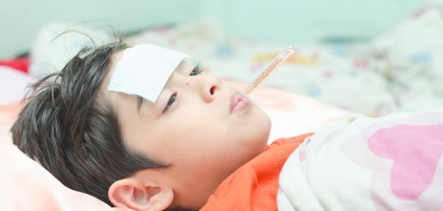 طريقة لخفض حرارة الأطفال