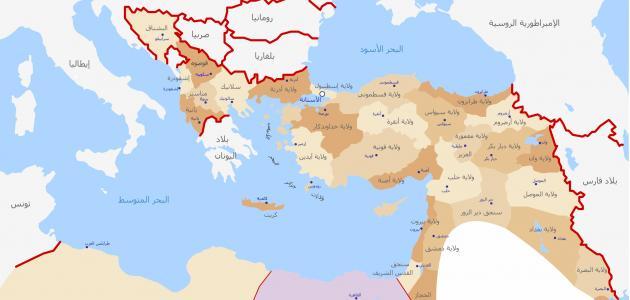 كم استمرت الخلافة العثمانية
