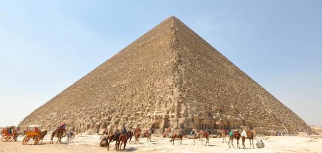 أكبر هرم في مصر