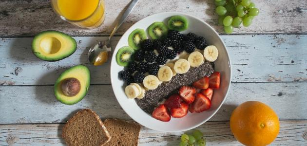 الأكل بعد التمرين