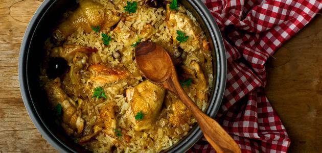 طريقة طبخ مدفون الدجاج