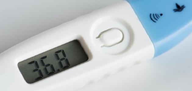 آثار ارتفاع درجة حرارة الجسم