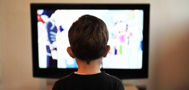 آثار التلفزيون على الأطفال