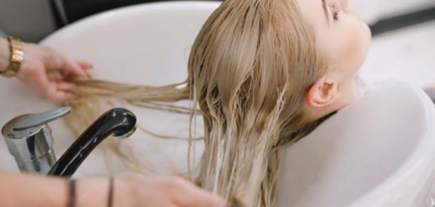 طريقة وضع بلسم الشعر