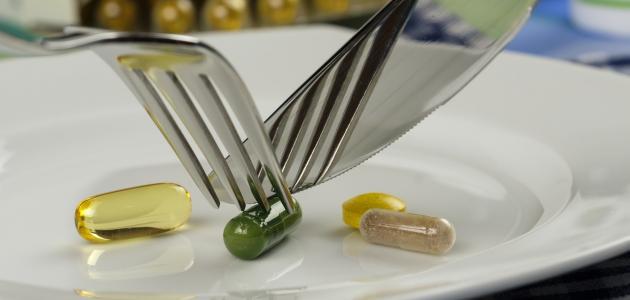 أضرار وفوائد المكملات الغذائية