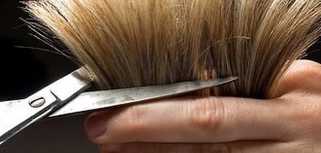 كيف أزيل التقصف من شعري