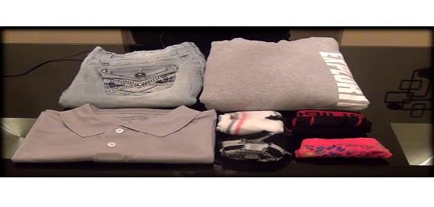 كيف تصنع الة طي الملابس