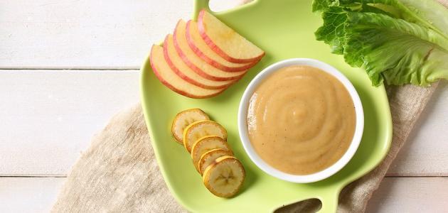 أطعمة للأطفال عمر 4 شهور